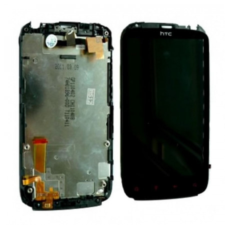 Display Htc Sensation XE Z715e negru swap