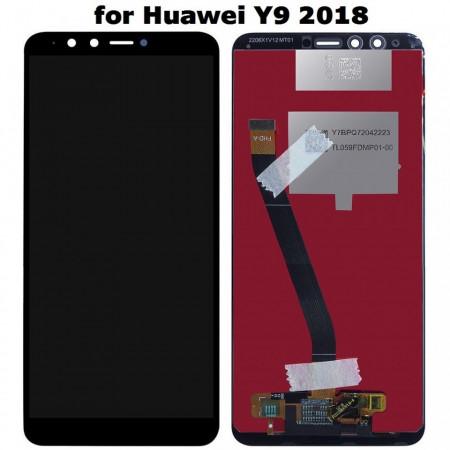 Poze Display Huawei Y9 2018 negru