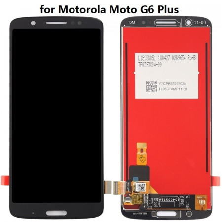 Display Motorola Moto G6 Plus negru