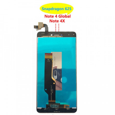Poze Display Xiaomi Redmi Note 4 Note 4X Snapdragon Version negru
