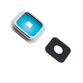 Ornament geam camera Samsung S5 G900 argintiu