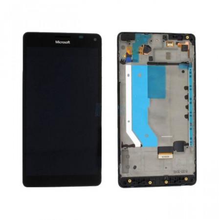 Poze Ansamblu display touchscreen rama Microsoft Lumia 950 XL negru