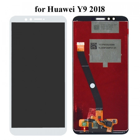 Display Huawei Y9 2018 alb