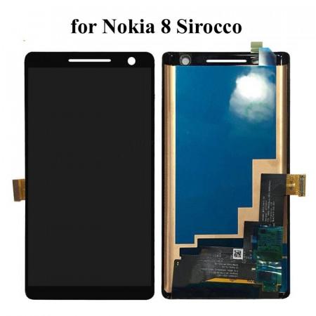 Poze Display Nokia 8 Sirocco negru