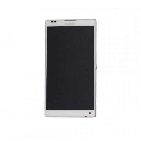 Display Sony Xperia ZL C6502 alb swap
