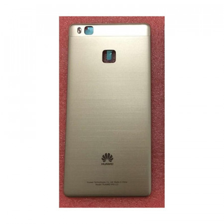 Poze Capac carcasa spate sticla Huawei P9 Lite gold