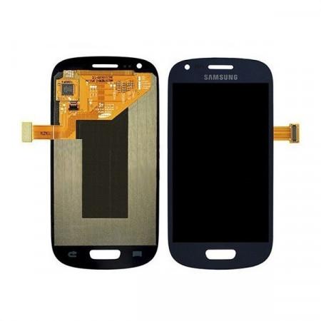 Poze Ansamblu display touchscreen Samsung S3 Mini i8190 albastru