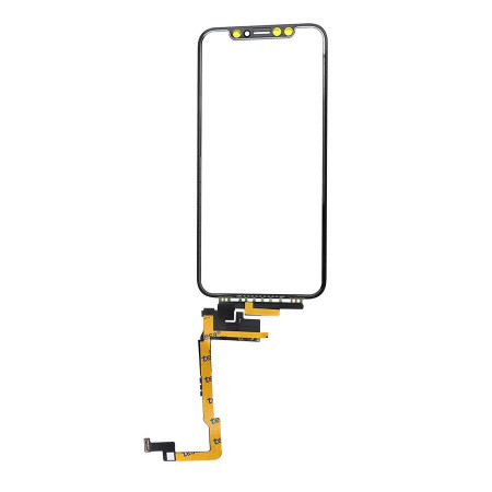 Poze Touchscreen Apple iPhone Xs cu flex lung