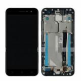 Ansamblu display touchscreen rama Asus Zenfone 3 ZE552KL negru swap