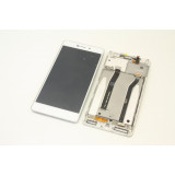 Ansamblu display touchscreen rama Xiaomi Redmi 3 alb original nou