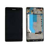 Ansamblu display touchscreen rama Microsoft Lumia 950 XL negru