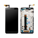 Ansamblu display touchscreen rama Xiaomi Redmi Note 3 negru swap