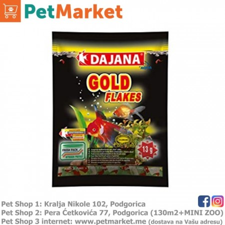Dajana Pet Gold Flakes 80ml