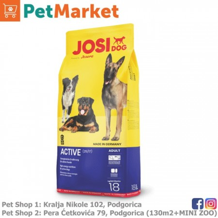 JOSERA JOSIDOG ACTIVE 18kg (Premium)
