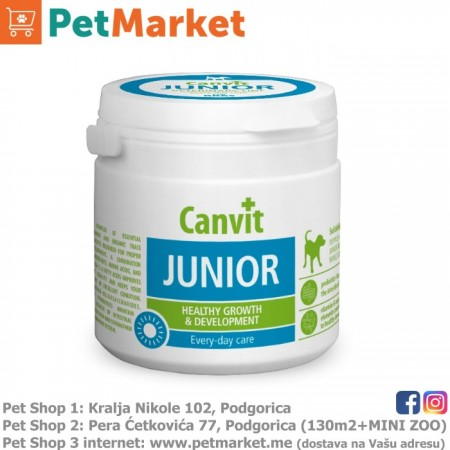 Canvit Junior za štenad 100g 100tbl