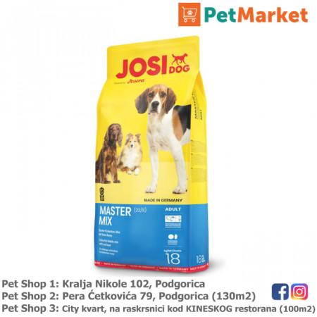 JosiDog Josera MASTER MIX granule ya odrasle pse petmarket petshop podgorica crna gora sarene