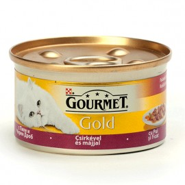 GOURMET Gold PILETINA i JETRA 85gr