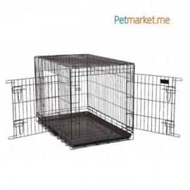 Kavez za pse 2 (sklopiv)