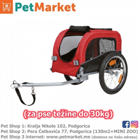 TRIXIE prikolica za biciklo (za pse do 30kg težine)