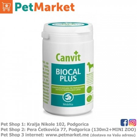 Canvit Biocal Plus (za pse) 230g 230tbl