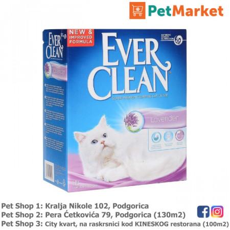 EVER CLEAN Posip za mačke LAVENDER 10L