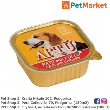 Artu pašteta za pse od piletine 300g