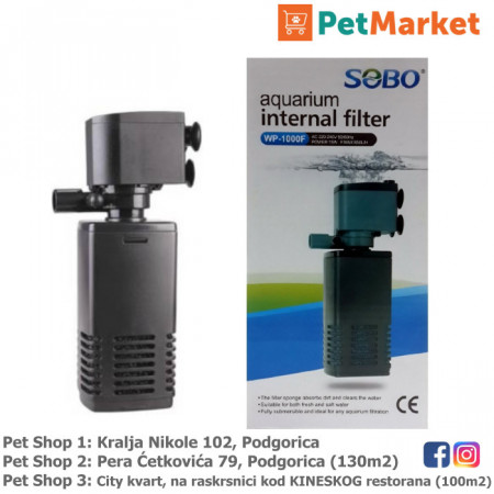 Sobo potapajuca filter pumpa petmarket petshop podgorica crna gora montenegro