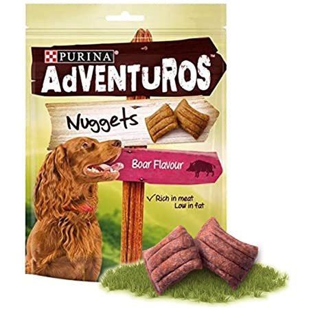 ADVENTUROS Nuggetssa ukusom divljeg vepra - poslastice 90gr