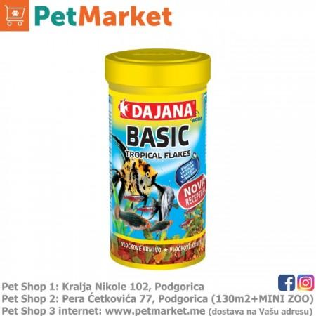 Dajana Pet Basic Tropical Flakes 100ml