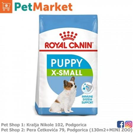 Royal Canin Xsmall puppy 500gr