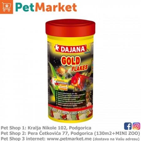 Dajana Pet Gold Flakes 250ml + 20% GRATIS