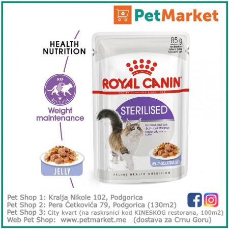 Royal canin sterilised jelly 85g cat