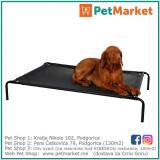 KERBL Kauč Dog Couch Vacation black 130x80x20cm