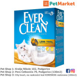 EVER CLEAN Posip za mačke LESS TRAIL 10L