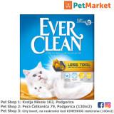 EVER CLEAN Posip za mačke LESS TRAIL 6L