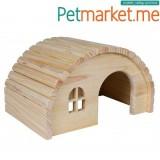 Drvena kućica za zamorce