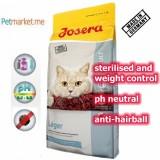 JOSERA LEGER 1kg (STERILISED, HAIR BALL, PH URINARY NEUTRAL)