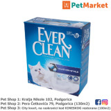 EVER CLEAN Posip za mačke MULTI CRYSTALS 6L