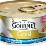 GOURMET Gold okeanska riba i sos od spanaća 85gr
