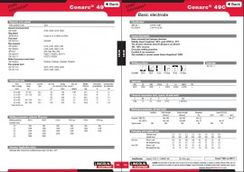 Electrozi CONARC 49 2.5x350