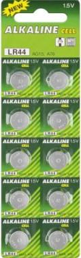 Baterii buton alcaline AG13/LR44/L1154/357/A76