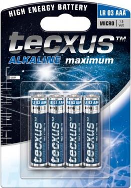 Baterii alcaline R03 (AAA) - 4/bl