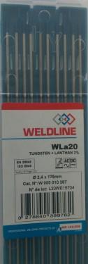 Electrod W lantaniu 2,4 mm