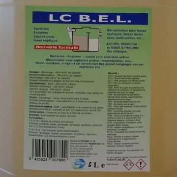 Bioactivator Fosa Septica Lichid Enzybel LC BEL 5 litri