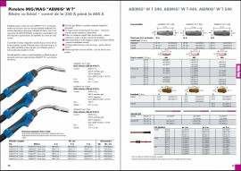 Pistolet sudura ABIMIG WT 440