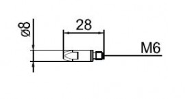 Duza curent 0.8mm 140.0054