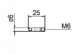 Duza curent 0.8mm pentru aluminiu 141.0002