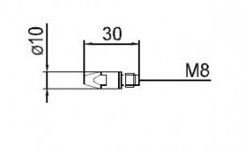 Duza curent 0.8mm 140.0114