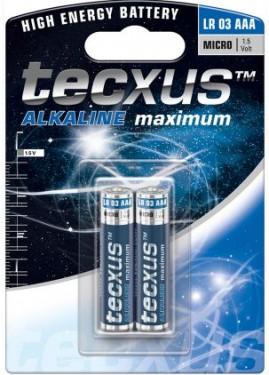 Baterii alcaline R03 (AAA)