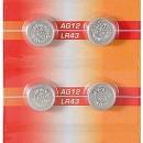 Baterii buton alcaline AG12/LR43/L1142/V12GA/4278/RW84